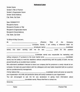 49 reference letter templates pdf doc free premium With microsoft office letter of recommendation template