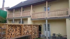 balkone With französischer balkon mit gartenzaun holz lärche
