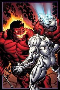 Red Hulk vs. Silver Surfer   The Hulk   Pinterest