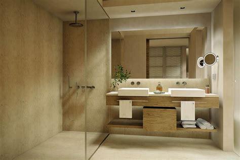 salle de bain moderne en bois tr 232 s nature meuble et d 233 coration marseille mobilier design