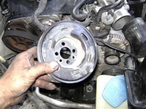 motor vw  lts turbo   cambio de banda de