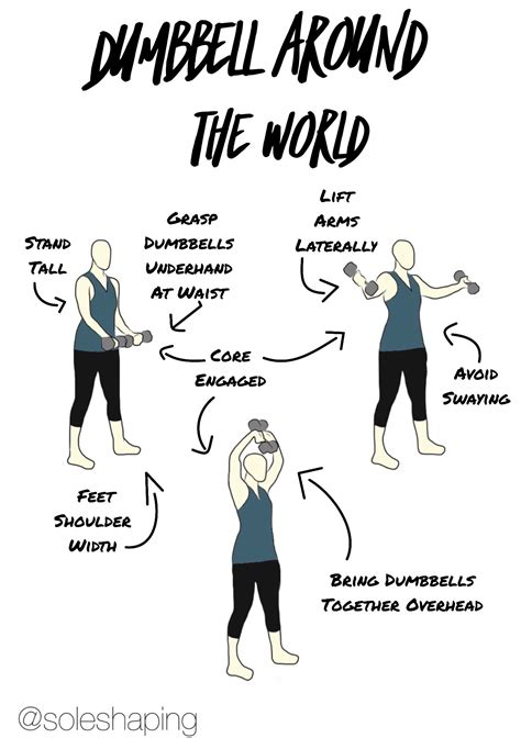 around dumbbell exercise kettlebell standing training cues challenge workouts benefits