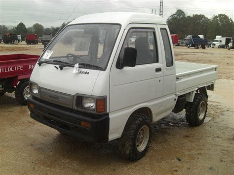 Daihatsu Mini Trucks by 1998 Daihatsu S83p Jumbo 4x4 Hijet Mini Truck J M Wood