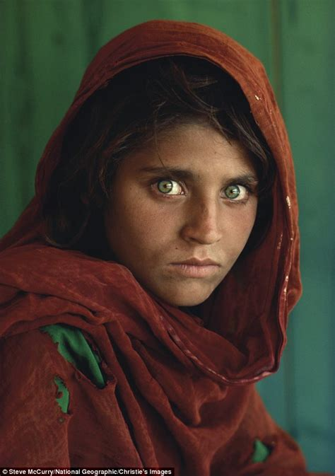 famous photographs the afghan girl by kaz d on deviantart
