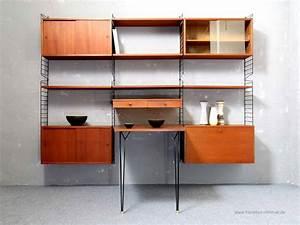 String Regal Ikea : string regal teak nils nisse strinning ~ Markanthonyermac.com Haus und Dekorationen