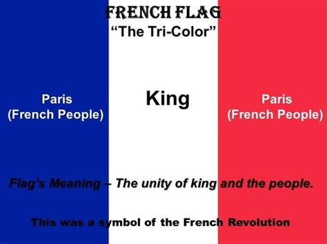 what does the color stand for what did the colors on the revolution flag