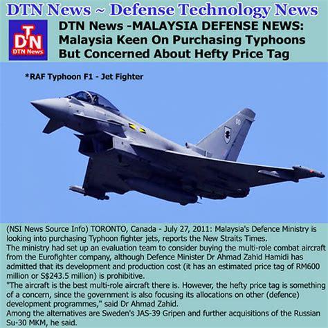 Malaysia Buy Typhoon Jets?