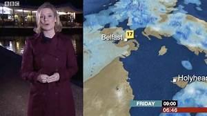BBC weather: Sarah Keith-Lucas looks stunning in plum ...