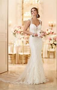 romantic lace wedding dress i stella york wedding dresses With stella york lace wedding dress