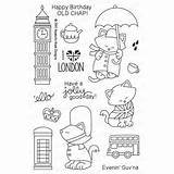 Stamp Newton sketch template