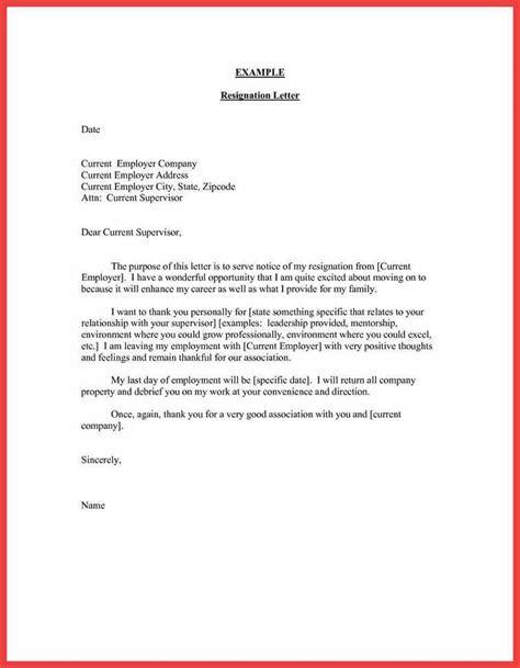 Thankful Resignation Letter  Memo Example