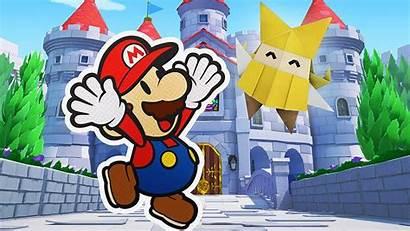 Mario Origami Paper King Nintendo Switch Please
