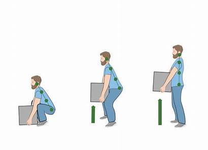 Heavy Object Lift Vector Lifting Posture Safely