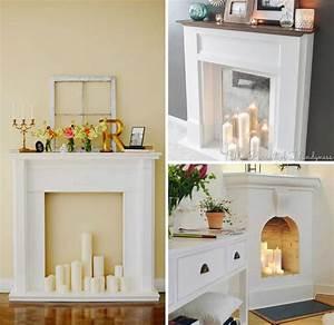 Decoration Maison Pas Cher : idee deco cheminee ancienne fashion designs ~ Premium-room.com Idées de Décoration