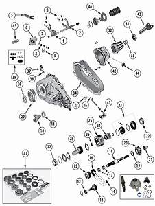 Diagram Transfer Cases Jeep Xj Cherokee 1984  2001