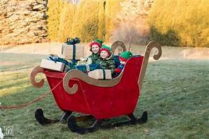 Diy, Santa, Sleigh, How, To, Make, Your, Own, Santa, U0026, 39, S, Sleigh