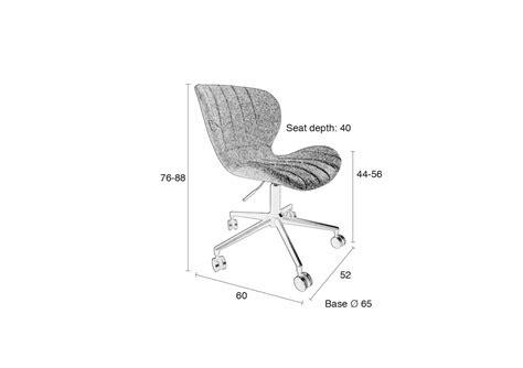 chaise de bureau top office chaise de bureau design omg office zuiver boite à design