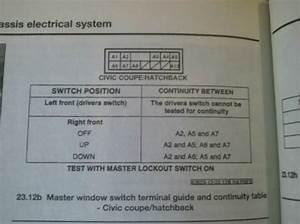 Drivers Side Window Still Doesn U0026 39 T Work  Replaced Regulator  Motor  Switch - Honda-tech