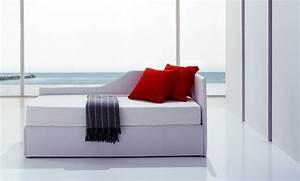 Line by Bolzan divano letto singolo con secondo letto o