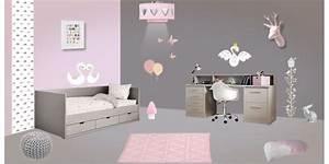 deco chambre fille grossesse et bebe With déco chambre bébé pas cher avec matelas champ de fleur
