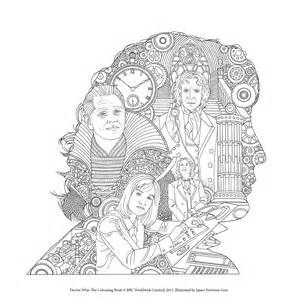 Adult Coloring Book Doctor Who