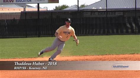 thaddeus huber  baseball prospect youtube