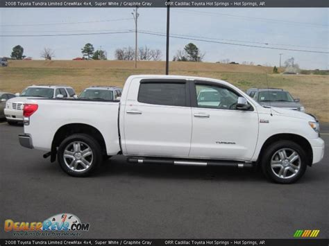 2008 Toyota Tundra Crewmax by 2008 Toyota Tundra Limited Crewmax 4x4 White