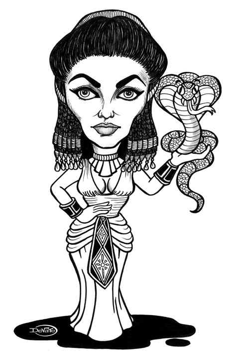 cleopatra  characters printable coloring pages