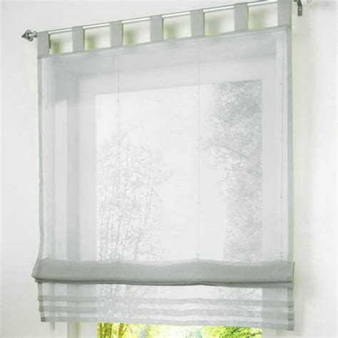 Kitchen Blinds Ebay by Tabtop European Color Kitchen Voile Blinds