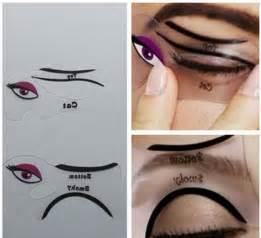 cat eye stencil 2pcs lot cat eyeliner stencil smokey eye stencil makeup