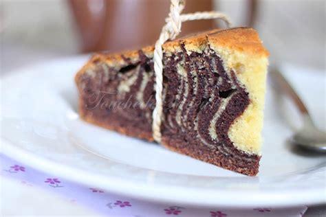zebra cake au yaourt grec