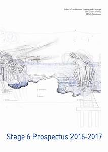 Best University Prospectus Design Architecture Stage 6 Prospectus By School Of Apl