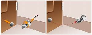 Butée De Porte Magnétique : poser une but e de porte porte ~ Dailycaller-alerts.com Idées de Décoration