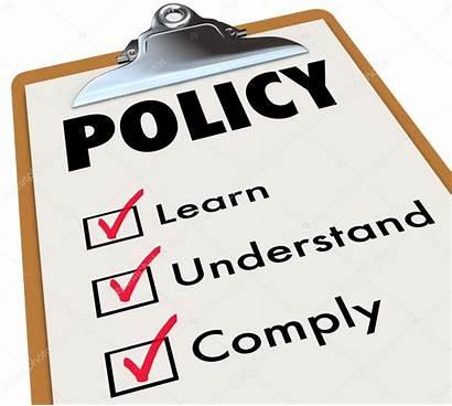 Policy Rules Regulations Imagen Depositphotos