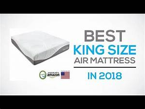 Best king size air mattress reviews 2018 youtube for Best king size mattress reviews
