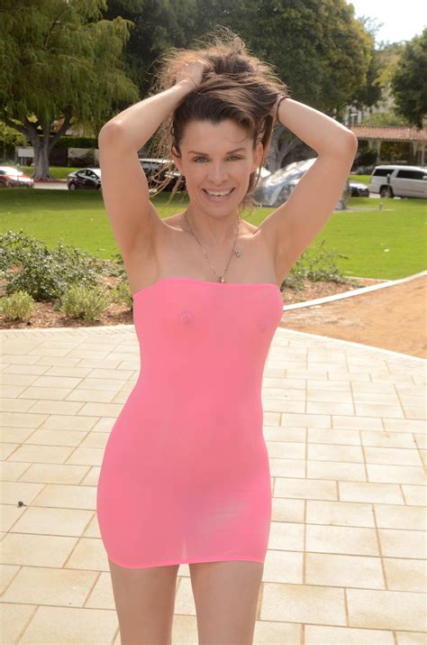 Alicia Arden Showing Off Her Tight Milf Body In A See