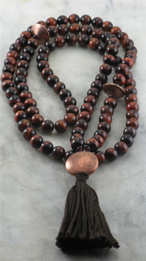 Ayurvedic Fire Mala | 108 mala beads, Buddhist prayer beads