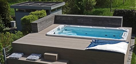luxus badewannen swim spa pools kaufen optirelax