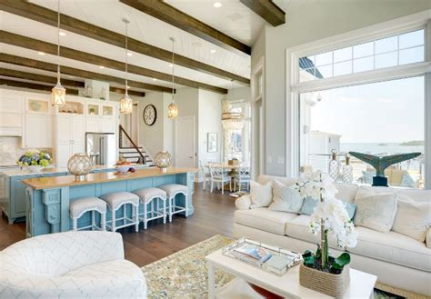 oversized kitchen island family vacation house home bunch interior design ideas
