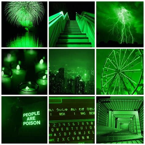 green aesthetic collage wallpapers wallpaper cave