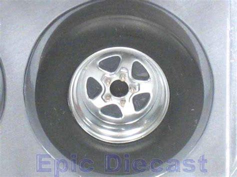tire wheel set drag  epic diecast cars  chip