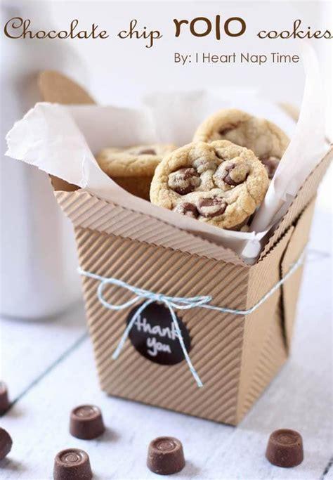rolo cookies fun gift idea  heart nap time