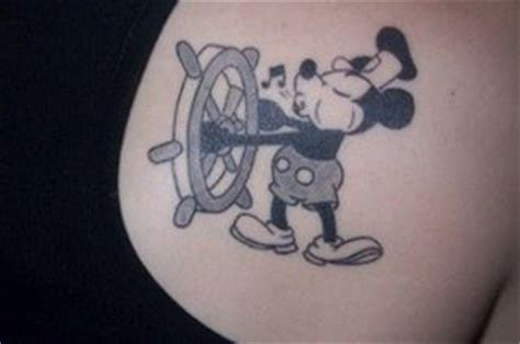 Steamboat Willie Tattoo by Steamboat Willie Disney Tat Can T Erase Pinterest