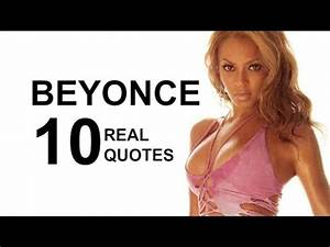 Beyoncé 10 Real Life Quotes on Success | Inspiring ...