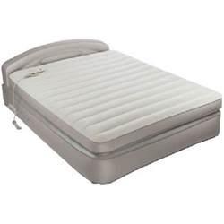 Aerobed Queen Air Mattress With Headboard aerobed opti comfort queen air mattress with headboard