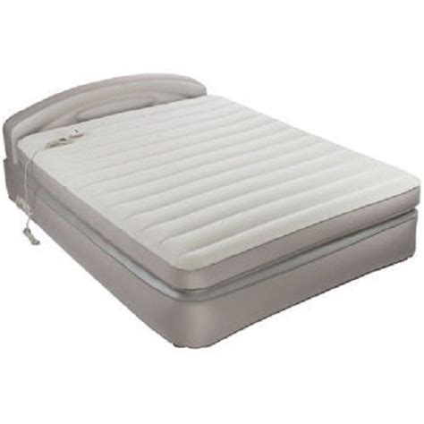 aerobed opti comfort queen air mattress with headboard