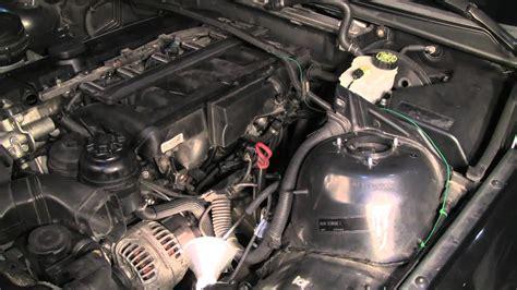 replacing  bmw  crankcase ventilation system part