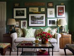 Photos Of Living Rooms With Green Walls by Seagrass End Tables Eclectic Living Room Ashley Whittaker Design