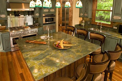 islands traditional kitchen  metro  stone countertop outletgranite tops