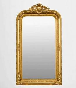 Cadre De Cheminée : miroir chemin e miroir de chemin e baroque ancien r tro dor or bois stuc ~ Melissatoandfro.com Idées de Décoration